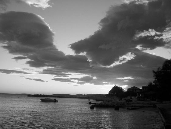 Kroatienküstenhimmel